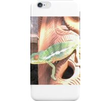 CAMELEON/CHAMELEON ON A POTTERY BOWL NOSY BE iPhone Case/Skin