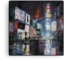 Nights on Broadway Canvas Print
