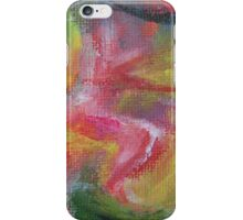 """Dreamscape No.3"" original abstract artwork by Laura Tozer iPhone Case/Skin"