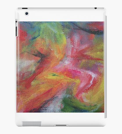 """Dreamscape No.3"" original abstract artwork by Laura Tozer iPad Case/Skin"