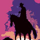 Cowboy Sunst by Tracy Lee Mead