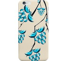 Blue Berries Branch iPhone Case/Skin