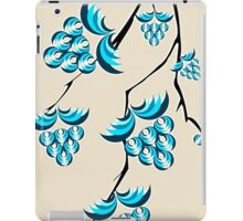 Blue Berries Branch iPad Case/Skin