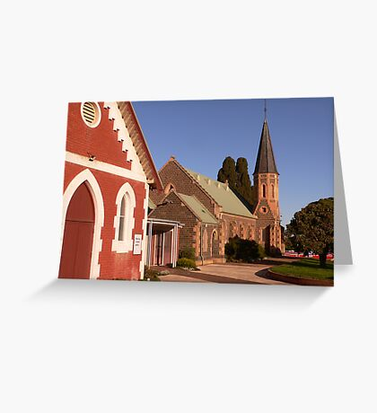 St Andrew's Uniting Church - Bacchus Marsh Greeting Card