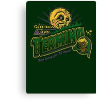 Greetings from Termina! Canvas Print