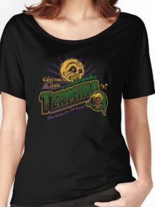 Greetings from Termina! Women's Relaxed Fit T-Shirt
