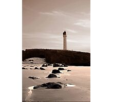 LOSSIEMOUTH LIGHTHOUSE Photographic Print