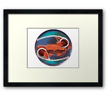 Zodiac: Cancer Framed Print