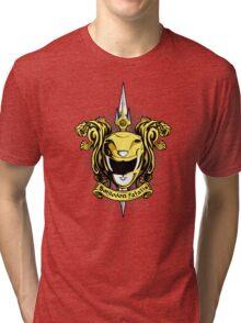 Croceus Smilodon fatalis Tri-blend T-Shirt