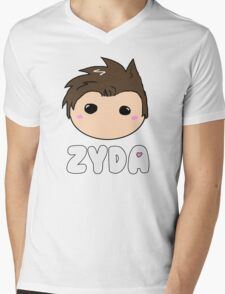 Chibi Zyda Mens V-Neck T-Shirt