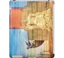 Rostral column iPad Case/Skin
