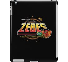 Greetings from Zebes! iPad Case/Skin