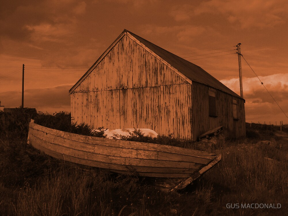 THE OLD BOAT HOUSE by GUS MACDONALD