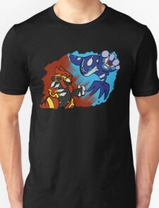 Groudon & Kyogre Primal forms T-Shirt