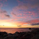 Grants Point sunrise - Binalong Bay by gaylene