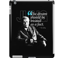 A Quote from Carl Gustav Jung Quote #29 of 50 available iPad Case/Skin