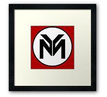Nicki Minaj - Only - Young Money Logo Framed Print