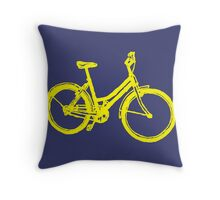 SUMMER LIMOUSINE Throw Pillow