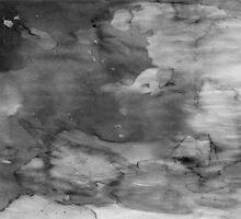 Black Watercolor Ombre by cafelab