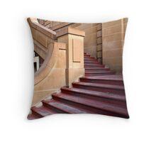 Steps through Sandstone Throw Pillow