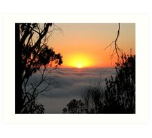 Sunrise - Mount Barker Summit Art Print