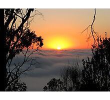 Sunrise - Mount Barker Summit Photographic Print