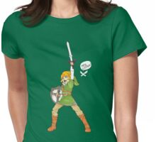Hey Listen! Womens Fitted T-Shirt