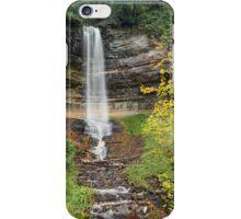 Munising Falls at Pictured Rocks iPhone Case/Skin