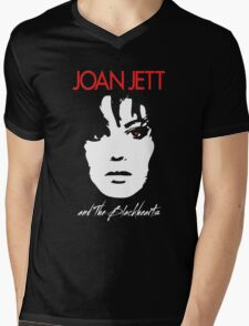 Joan Jett & The Blackhearts Mens V-Neck T-Shirt