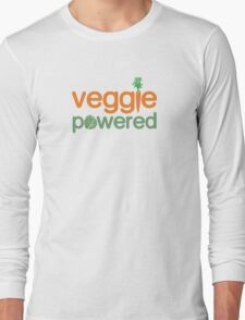Veggie Vegetable Powered Vegetarian Long Sleeve T-Shirt