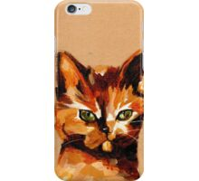 Pray You Never Are on the Receiving End of This Look iPhone Case/Skin