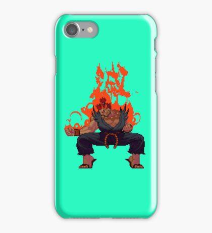 Street Fighter - Akuma Taunt iPhone Case/Skin