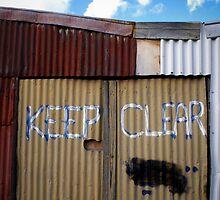 Keep Clear by Jaye Heraud