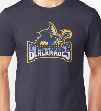 Fantasy League Black Mages Unisex T-Shirt