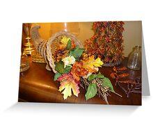 Thanksgiving Display Greeting Card