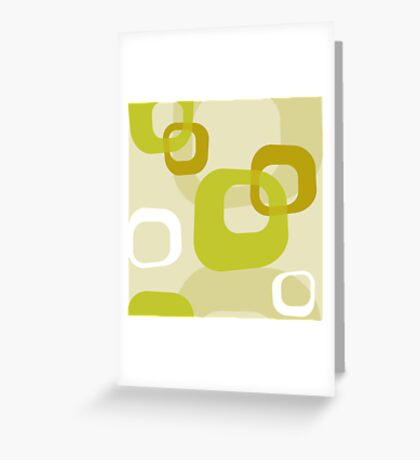 RETRO HOOPS Greeting Card