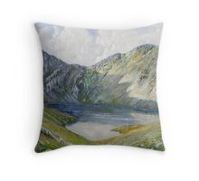 The Minffordd Path to Cader Idris. Throw Pillow