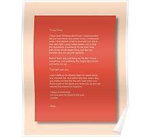 Letter writer 612 Poster