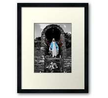 Mary in New Mexico Framed Print