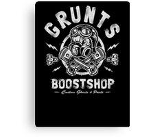 Grunts Boost Shop Canvas Print