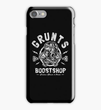 Grunts Boost Shop iPhone Case/Skin