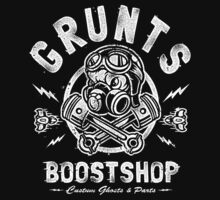 Grunts Boost Shop One Piece - Short Sleeve