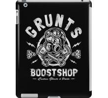 Grunts Boost Shop iPad Case/Skin