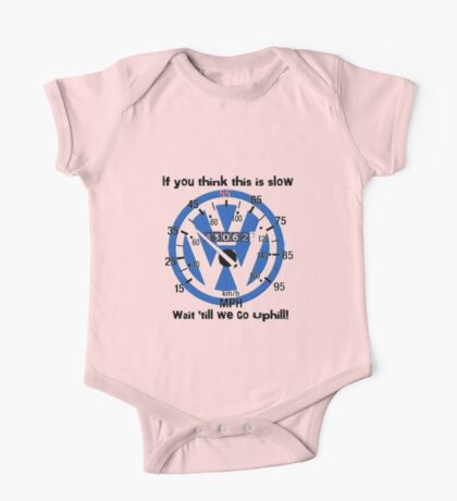 VW Speedometer  One Piece - Short Sleeve