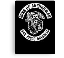 Sons of Anchorman Canvas Print