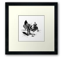 Apollo Moon Landing Framed Print