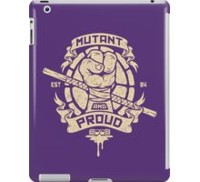 Mutant and Proud! (Donnie) iPad Case/Skin