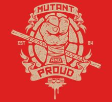 Mutant and Proud! (Donnie) One Piece - Short Sleeve