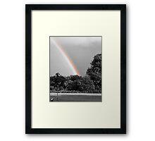 Rainbow SC Framed Print