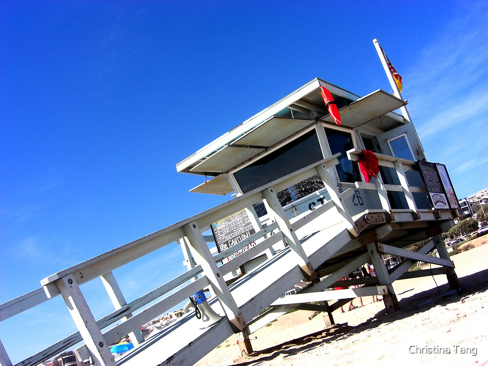 Lifeguard Guardpost by Christina Tang